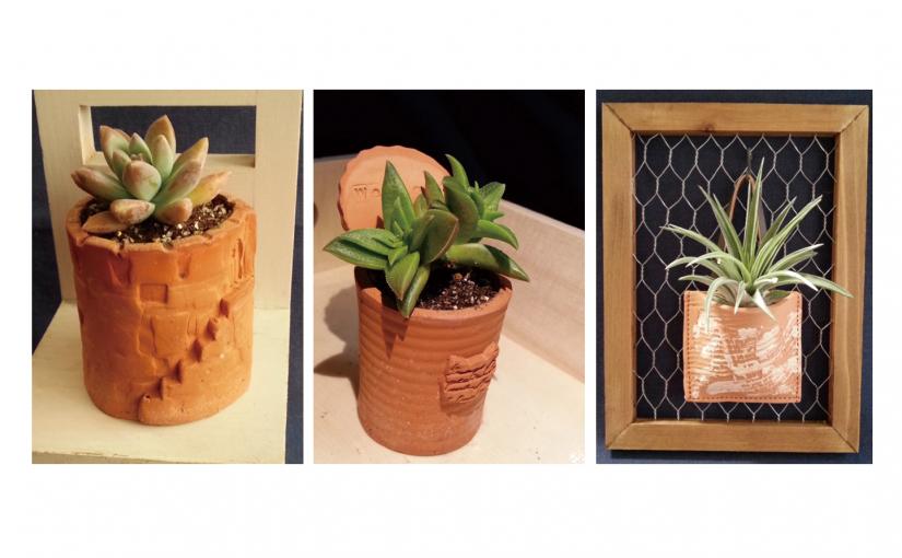 テラコッタ・ミニ鉢をつくる【横浜市】※終了
